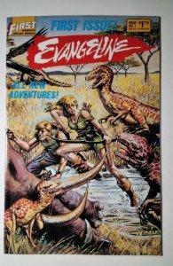 Evangeline #1 (1987) First Comic Book J756