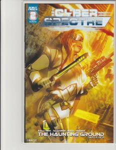 Cyber Spectre #2 Kickstarter Exclusive Cover Oracle Scout Comics NM