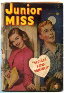 Junior Miss #35 1949- CINDY- Marvel Comics Golden Age POOR