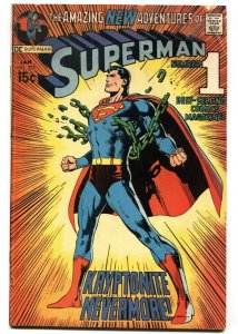 Superman #233 1971-DC-Neal Adams cover-Key issue-VG