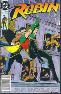Robin (Mini-Series) #2 (Newsstand) FN; DC | save on shipping - details inside
