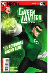 GREEN LANTERN: THE ANIMATED SERIES #0 (2012) Precursor to CARTOON NETWORK series