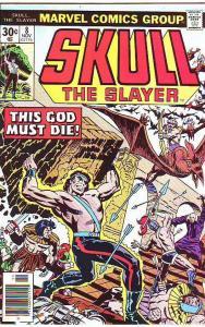Skull the Slayer #8 (Nov-76) NM/MT Super-High-Grade Skull the Slayer