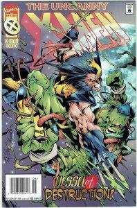 Uncanny X-Men #324 Scott Lobdell Newsstand VF