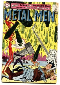 METAL MEN #1-comic book-SILVER AGE-DC-FIRST ISSUE-G
