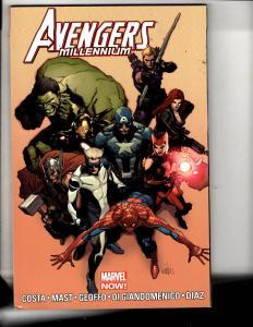 Avengers Millennium Marvel Comics TPB Graphic Novel Comic Book Hulk Thor MF5
