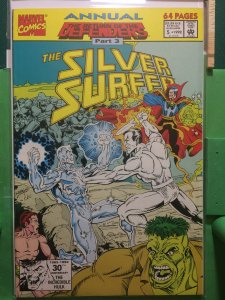 The Silver Surfer Annual #5 The Return of the Defenders part 3