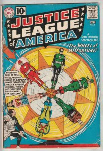 Justice League of America #6 (Aug-61) FN+ Mid-High-Grade Justice League of Am...