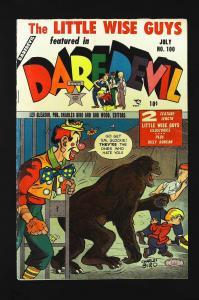 Daredevil Comics (1941 series) #100, Fine+ (Actual scan)