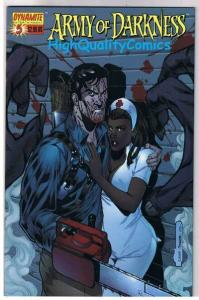 ARMY of DARKNESS #5, NM, Bradshaw, Chainsaw, Gun, 2005, more AOD in store