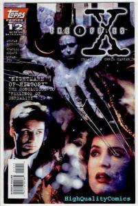 X-FILES #12, NM,- Dana Scully, 1st,  Fox Mulder, Carter, 1995, more XF in store