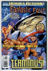 FANTASTIC FOUR #4,Vol 3, NM+, Chris Claremont, Thing, Enemy within