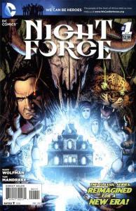 Night Force (2012 series) #1, NM (Stock photo)