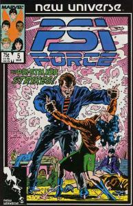 PSI-Force #5, NM- (Stock photo)