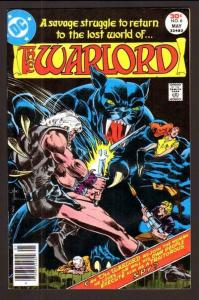 WARLORD #6, VF,+ Mike Grell, DC 1976 1977, more DC in store