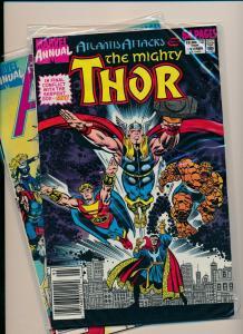 Marvel Annual  LOT!! Atlantis Attacks #14, & 18 Avengers& THOR!  F/VF(PF830)