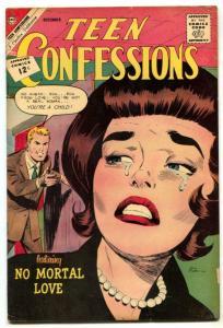 Teen Confessions #20 1962- Charlton Romance VG/F