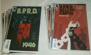 B.P.R.D. Hell on Earth Hellboy 88 Mignola, BPRD, Dark Horse comic book lot of 28