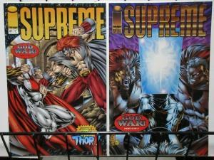 SUPREME (1992 IMAGE) 21-22 God War complete