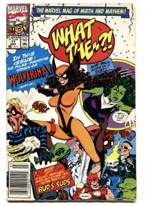 What The #11 Wolverina 1991 Wolverine parody issue comic
