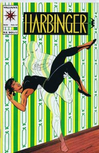 Howard Simpson Signed Harbinger #17 Valiant Comics