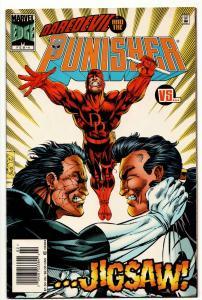 Punisher #4 Daredevil / Jigsaw (Marvel, 1996) FN-