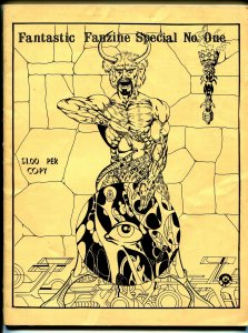 Fantastic Fanzine Special #1 1970-1st issue-Don Heck-Dave Corkrum-Romita-VG/FN