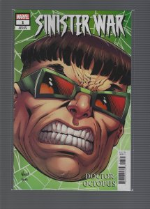Sinister War #1 Variant