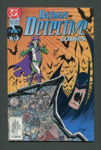 Detective Comics #617 / 9.2 NM-  (JOKER)  July 1990 (F)