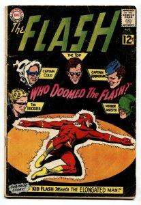 FLASH #130-DC COMICS-BLACK COVER-KID FLASH VG