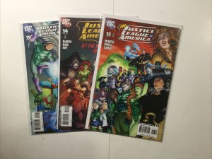Justice League Of America 13 14 15 Lot Run Set Near Mint- Nm- 9.2 Dc Comics