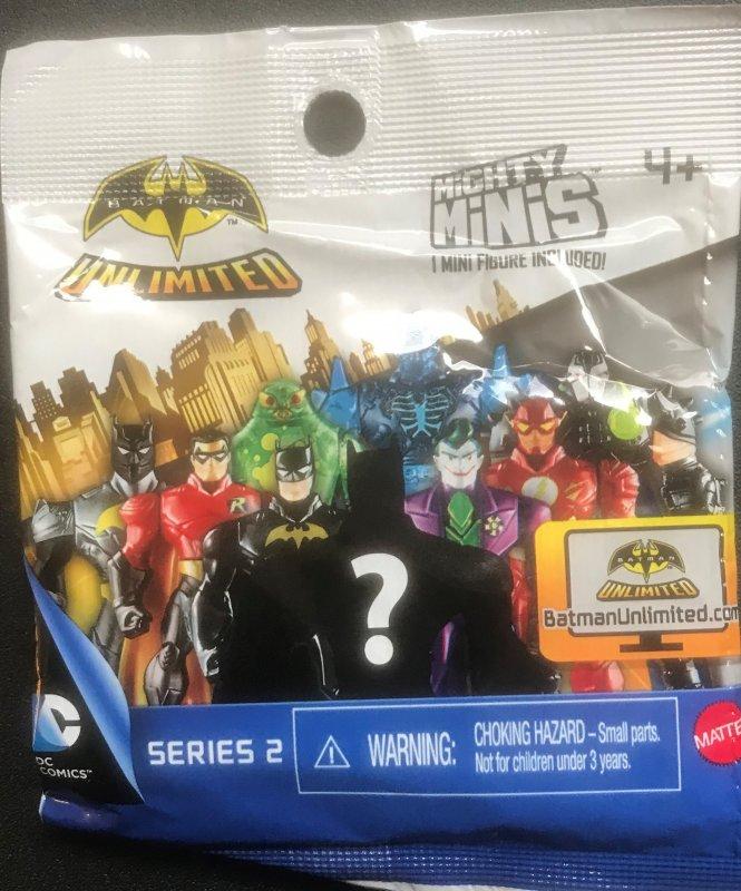 Batman Unlimited Mighty Mini Unopened