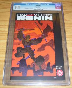 Ronin #1 CGC 9.4 dc comics - frank miller - bronze age - first appearance 1983