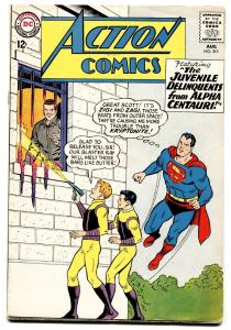 ACTION COMICS #315 comic book 1964-SUPERMAN-JUVENILE DELIQUENTS FN+