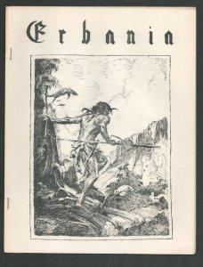 Erbania #11 1962-Edgar Rice Burroughs & Tarzan Fanzine-Cover art by Roy Krenk...