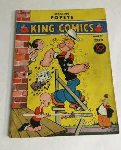 King Comics 24 Popeye Vg+ Very Good+ 4.5 King Features Syndicate