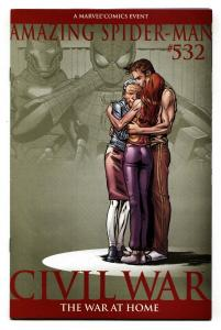 AMAZING SPIDER-MAN #532 2nd print comic book-Civil War avengers movie MCU