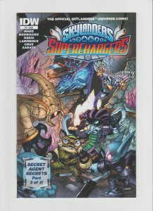 Skylanders Superchargers #3 NM 9.2 IDW Comic Cover by Fico Ossio