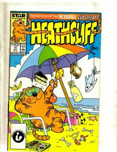 Lot of 11 Heathcliff! Marvel Comic Books #18 19 22 25 26 28 33 34 36 37 41 J344