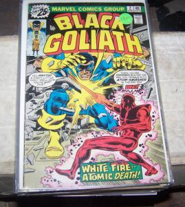 black goliath # 2 april 1976 marvel bill foster giantman