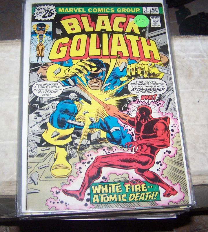 black goliath # 2 april 1976 marvel bill foster giantman