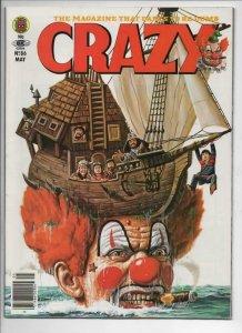 CRAZY #86 Magazine, VF, Obnoxio the Clown, Time Bandits, 1973 1982,more in store