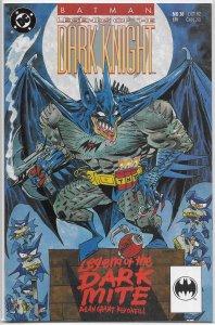 Batman  : Legends of the Dark Knight   # 38 VF (Dark Mite)
