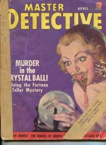 MASTER DETECTIVE-APRIL  1937-SPICY-MURDER-KIDNAP-RAPE-DALTON STEVENS COVER FR