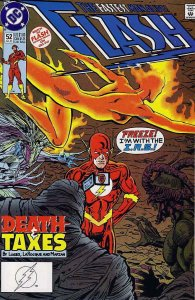 Flash (2nd Series) #52 VF/NM; DC   save on shipping - details inside
