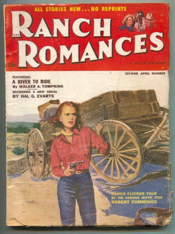 Ranch Romances Pulp 2nd April 1953- River to Ride G