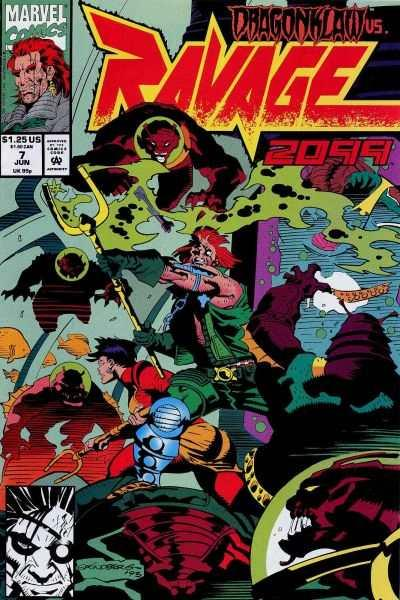 Ravage 2099 #7, NM (Stock photo)