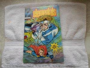 NOV. 1991 COMICO COMICS ELEMENTALS. # 21