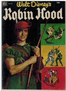 ROBIN HOOD (1955 DELL) F.C.669 (Disney) GD PHOTOVOVER