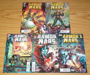 Armor Wars #1-5 VF/NM complete series - secret wars - james robinson - iron man